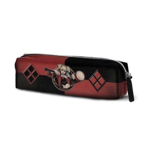 Astuccio Tubolare Harley Quinn rosso e nero