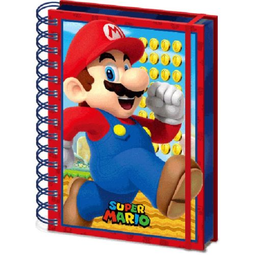 Notebook 3D super mario