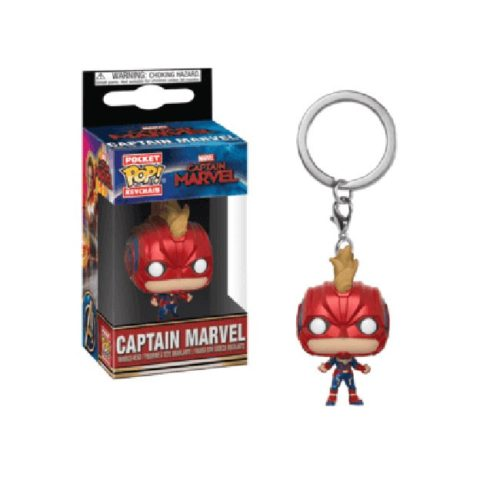 Poket Pop Keychain Captain Marvel