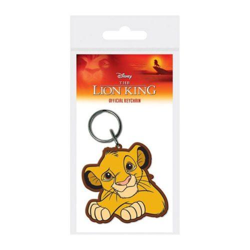 Portachiavi Simba in gomma The Lion King Disney