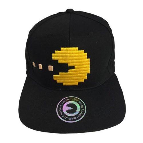 cappello con visiera pac man