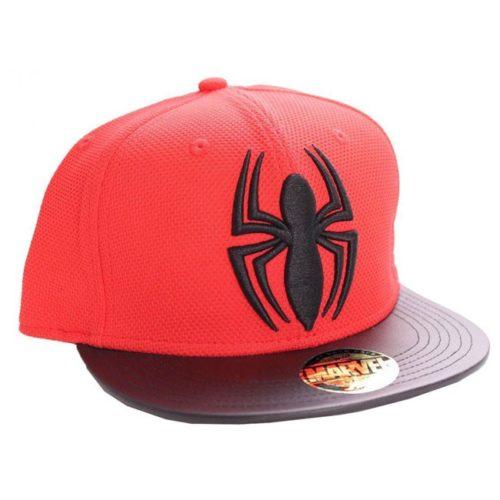 cappello con visiera spiderman marvel