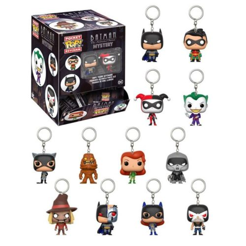 funko mystery keychain batman animated series