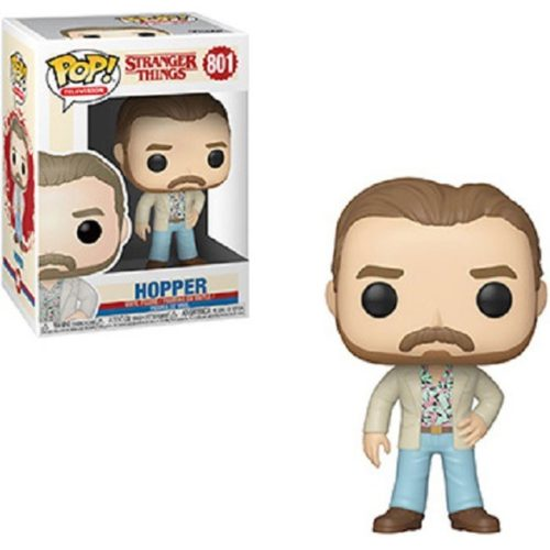 Funko Pop Hopper stranger things 801