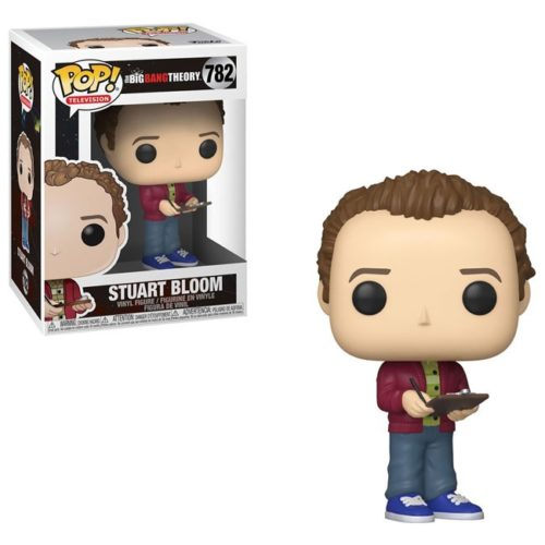 Funko Pop Stuart Bloom the big bang theory 782