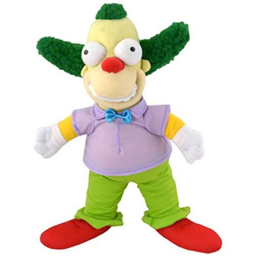 peluche Krusty il Clown the Simpsons
