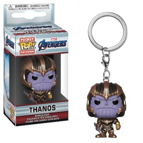 pocket pop keychain thanos avengers marvel