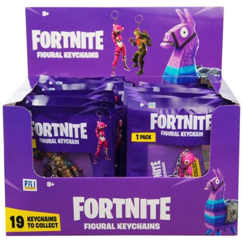 portachiavi fortnite personaggi 6cm