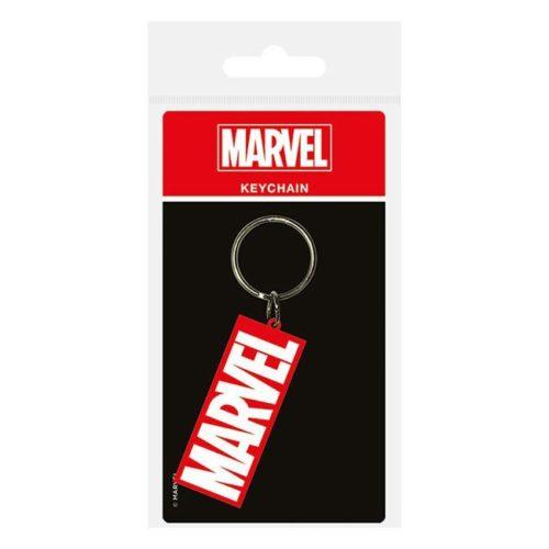 Portachiavi logo Marvel in Gomma