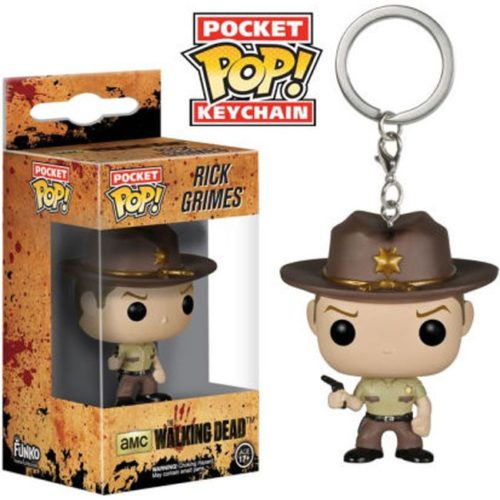 portachiavi pocket pop keichain rick Grimes The Walking Dead