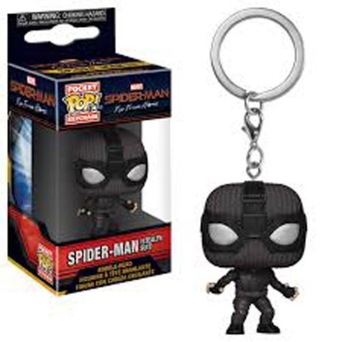 portachiavi pocket pop keichain spider man stealth suit far from home