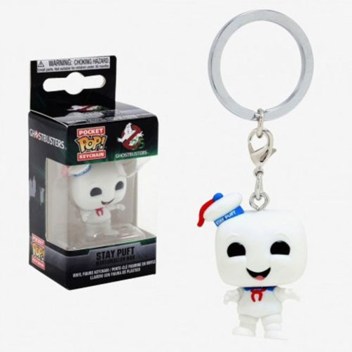 portachiavi pocket pop keichain stay puf ghostbusters