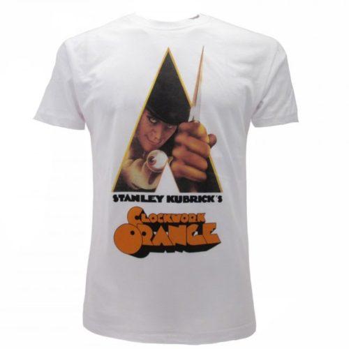 t shirt bianca Arancia Meccanica