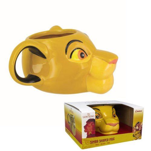 tazza 3d Simba Re Leone