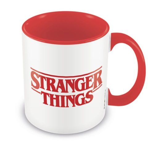 tazza stranger things logo