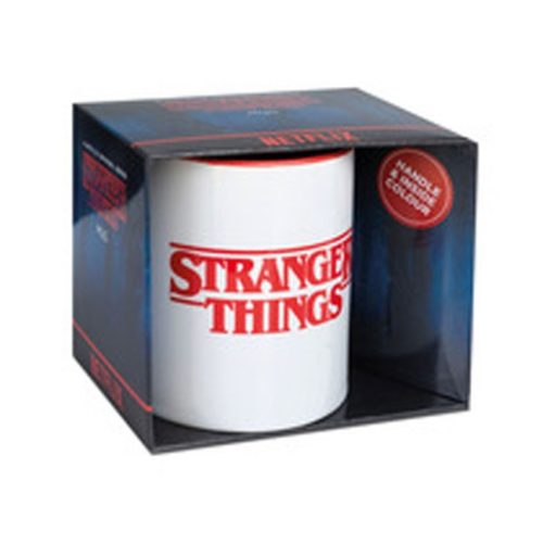 tazza stranger things logo scatola