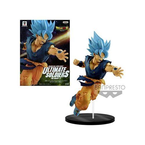 Action Figure Goku Super Saiyan God Ultimate Soldier the Movie Dragonball Banpresto