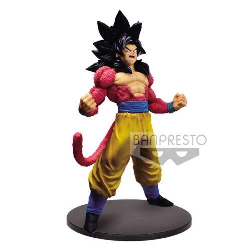 Action Figure Goku Super Saiyan 4 Blood of Saiyans Special Dragonball Banpresto