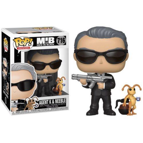 Funko Pop Agent K and Neeble Men in Black 716