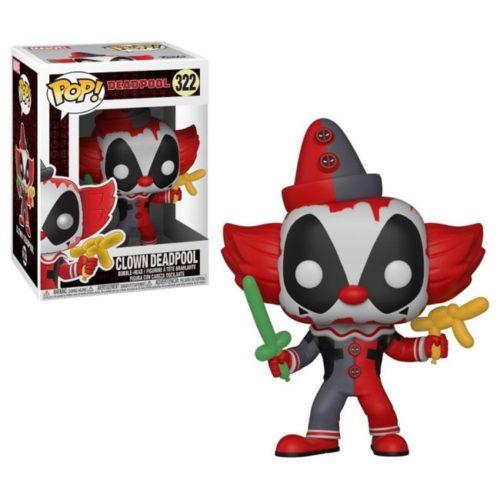 Funko Pop Clown Deadpool 322