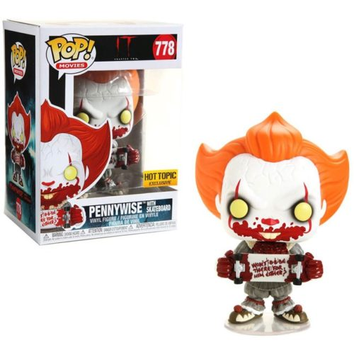 Funko Pop Pennywise with Skateboard IT 778