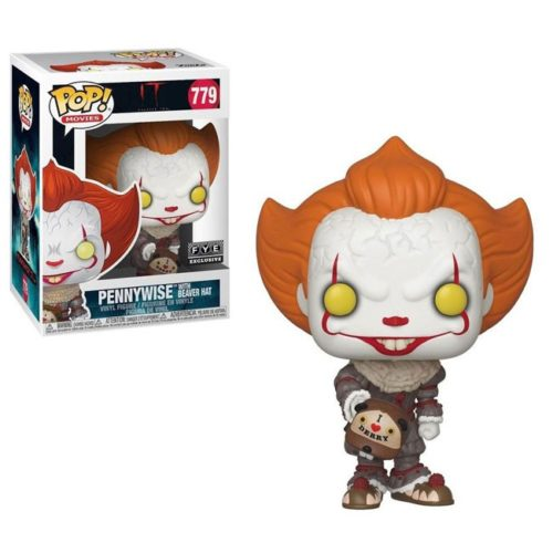 Funko Pop Pennywise whit Beaver Hat IT 779