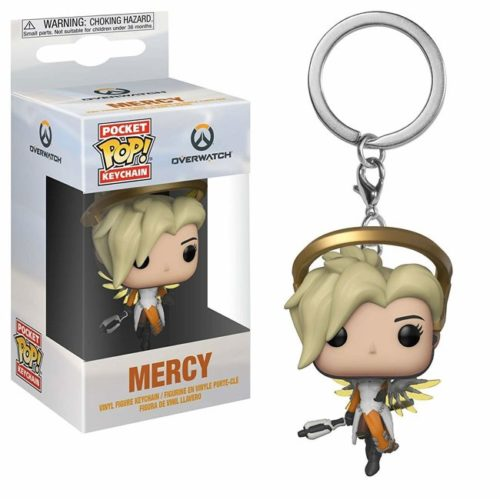 Poket Pop Keychain Mercy Overwatch