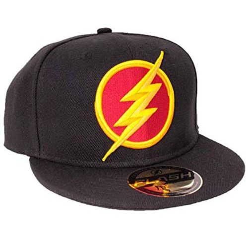 cappello con visiera flash dc comics