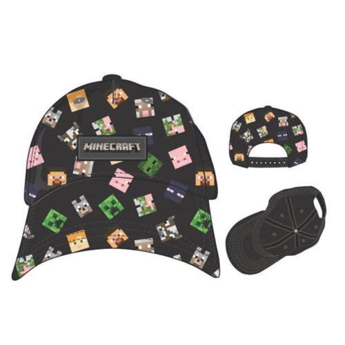 cappello con visiera minecraft
