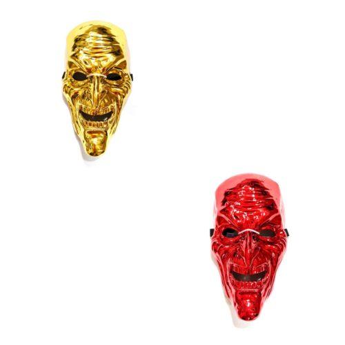 maschera goblin oro rosso