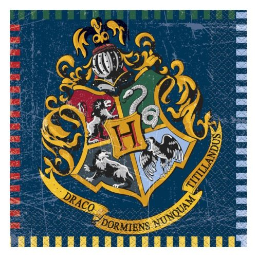 tovaglioli a tema Harry Potter