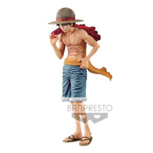 Action Figure Monkey D Luffy One Piece Magazine Banpresto