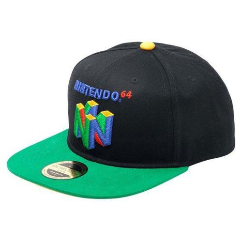 cappello con visiera nintendo 64