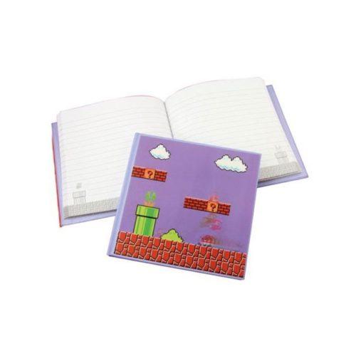Notebook lenticolare quadrato Super Mario Nintendo