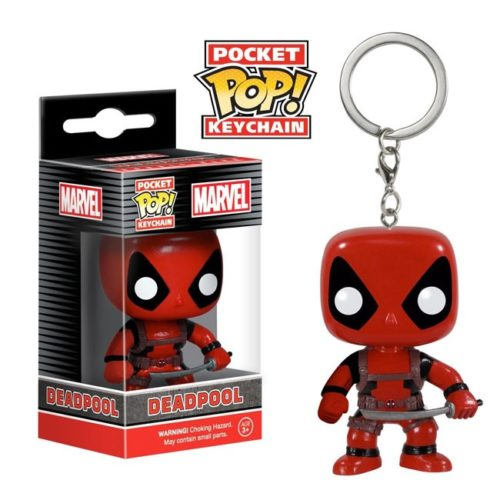 Pocket Pop Keychain Deadpool with sword Marve