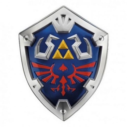 Riproduzione Scudo in plastica Link Legend of Zelda