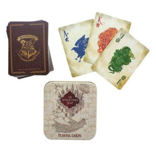Carte da Gioco Mappa del Malandrino Harry Potter