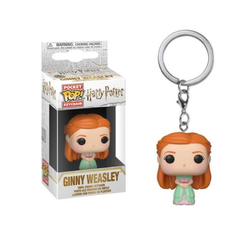 Pocket Pop Keychain Ginny Weasley Harry Potter