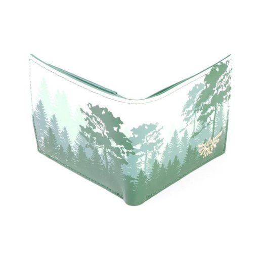 portaoglio zelda verde