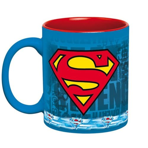 tazza superman DC Comics retro