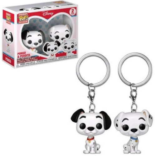 Funko Poket Keichain Pongo and Perdita Disney
