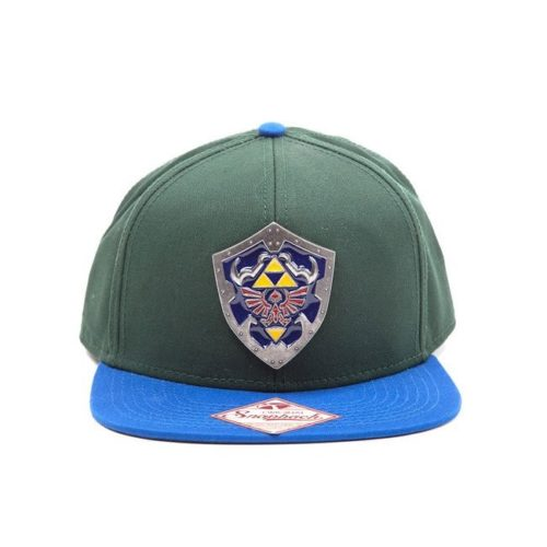 cappello regolabile con visiera legend of zelda