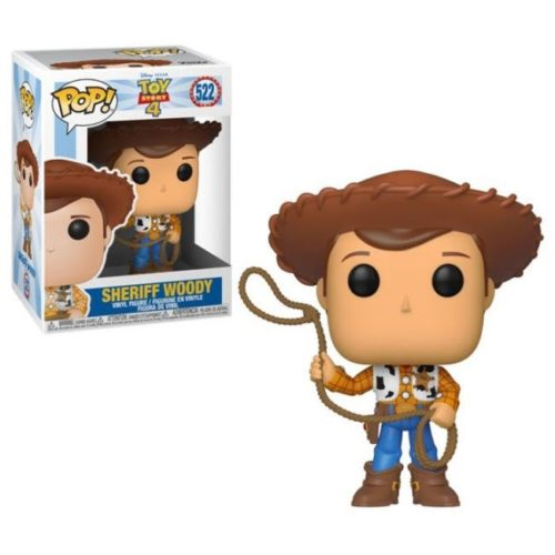 funko pop Sheriff Woody Toy Story 4 Disney Pixar 522