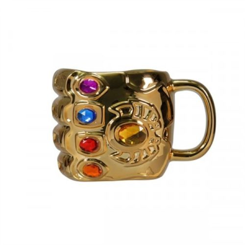 tazza 3d infinity gauntlet thanos Marvel