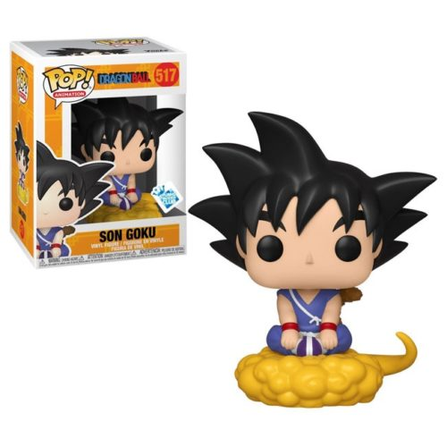 Funko Pop Goku and Flying Nimbus Dragonball 109