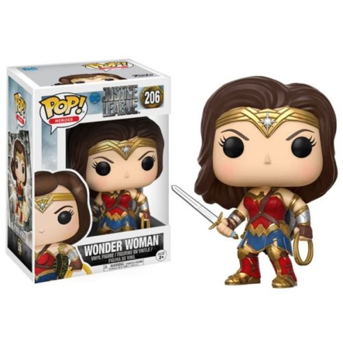 Funko Pop Wonder Woman Justice League Dc Comics 2016