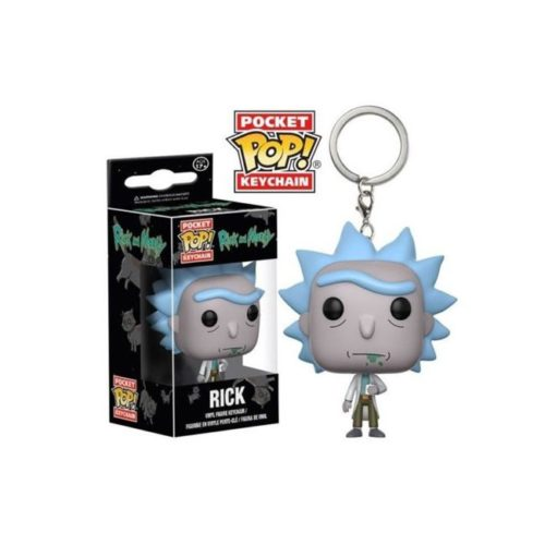 Pocket Pop Keychain Rick Rick and Morty
