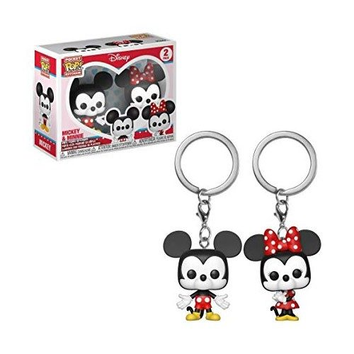 Poket Pop Keychain Mickey and Minnie Disney