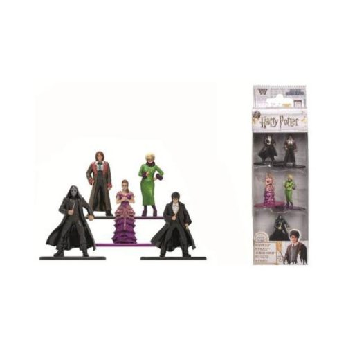 Set 5pz Personaggi Harry Potter 4cm metal