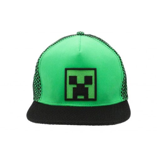 Cappello con visiera Creeper Minecraft